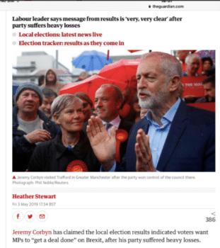 Jeremy Corben Labour Party