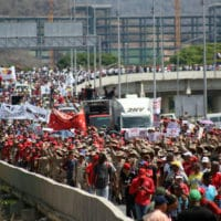 May Day march in support of President Nicolas Maduro in Venezuela