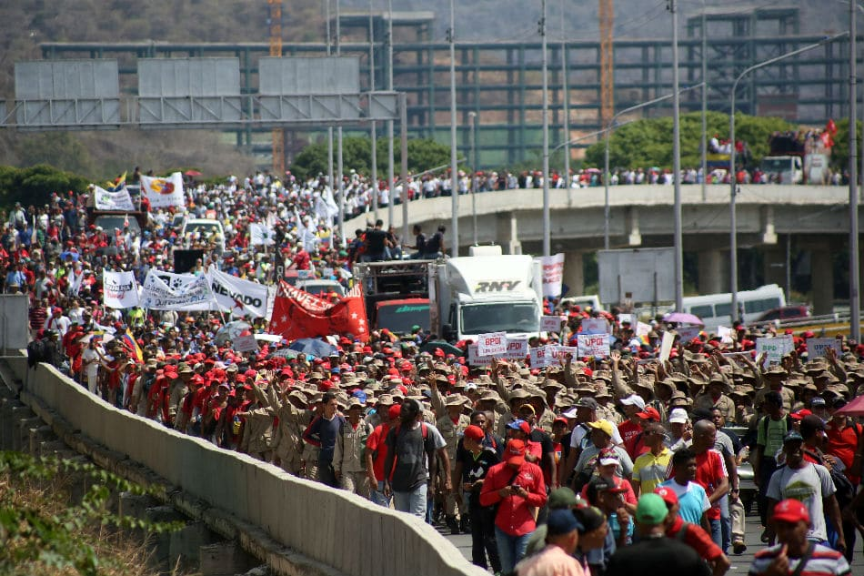 | May Day march in support of President Nicolas Maduro in Venezuela | MR Online