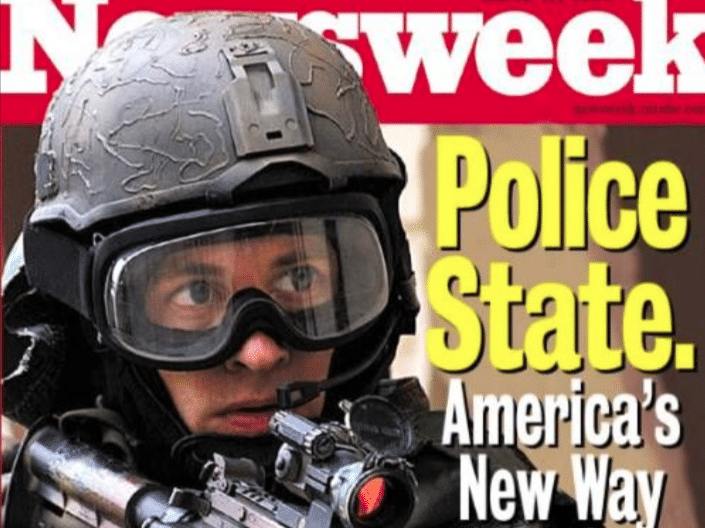   Police State   MR Online