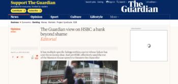 The Guardian - HSBC