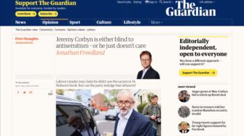 The Guardian - Jermy Corbyn
