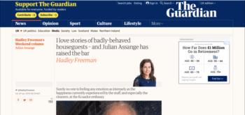 The Guardian - Julian Asang