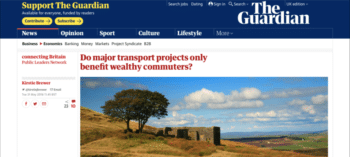 The Guardian - Transport projects