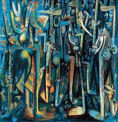 Wilfredo Lam, The Jungle, 1943.