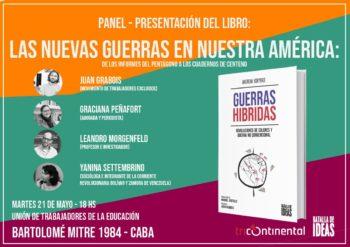 Panel - Presentacion del Libro