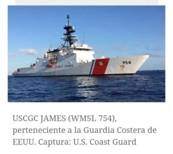 US Coast Guard James 754
