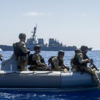 U.S. Navy boat