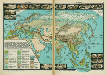 A 1936 map of Eurasia. (Flickr)