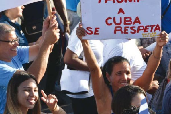 Cuban President Miguel Díaz-Canel Bermúdez insisted that Cuba will not be intimidated by new U.S. restrictions and threats. Photo- Juvenal Balán