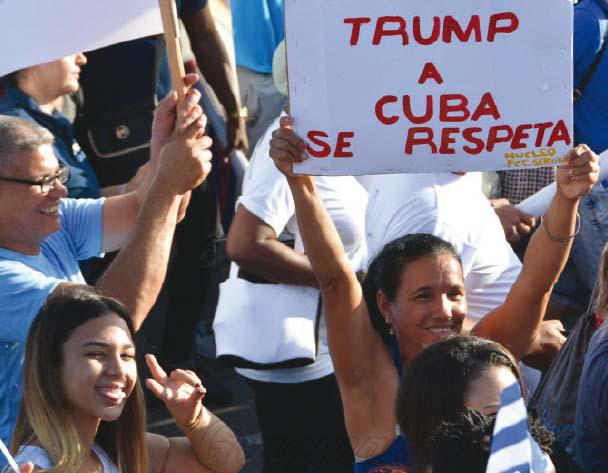 | Cuban President Miguel DíazCanel Bermúdez insisted that Cuba will not be intimidated by new US restrictions and threats Photo Juvenal Balán | MR Online