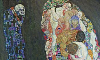 Gustav Klimt, Death and Life, 1910.