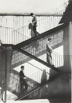 Lola Alvarez Bravo, Unos suben y otros bajan, 1940.