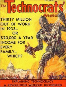 Technocrats Magazine cover