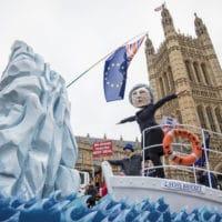 "Theresa May ""HMS Brexit"" Stunt"