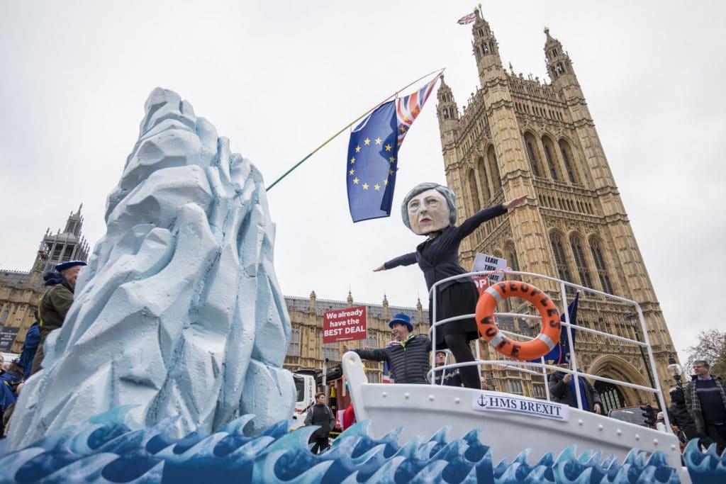| Theresa May HMS Brexit Stunt | MR Online