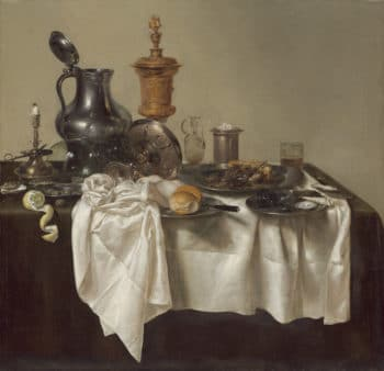 Willem Claesz Heda Banquet Piece with Mince Pie, 1635 National Gallery of Art, Washington D.C.