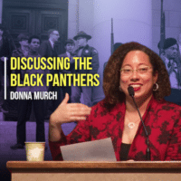 Discussing the Black Panthers