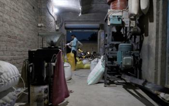 Grain mill. Jamalpur Shekhan village, Haryana. July 2018. Photo credits: Celina della Croce