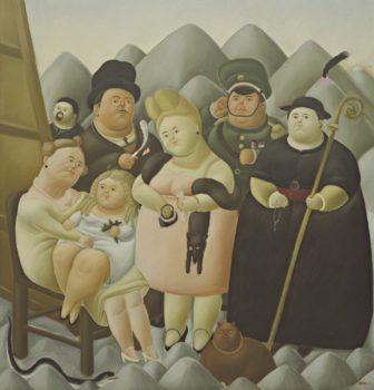 Fernando Botero, The Presidential Family, 1967.
