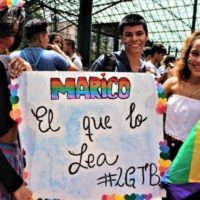 2019 Pride march in Caracas. Photo- Venezuela Analysis.