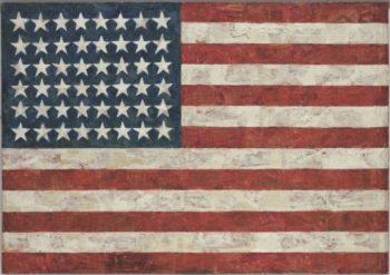 Jasper Johns - Flag (1954)