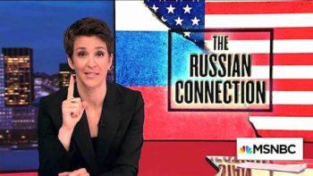 MSNBC news host Rachel Maddow schooling viewers.