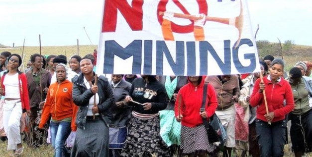 'No To Mining' of the Xolobeni Sands