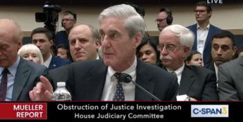 Robert Mueller at July 24, 2019, congressional hearing.