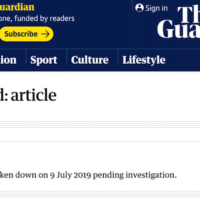 The Guardian removed Chris Williamson letter