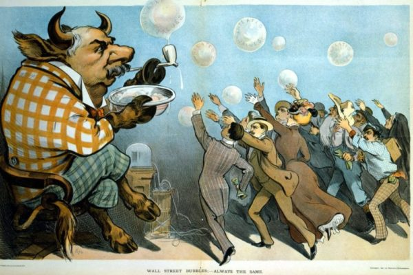 Wall Street bubbles—always the same
