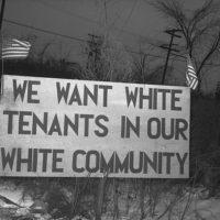 WhiteTenantsWhiteCommunity