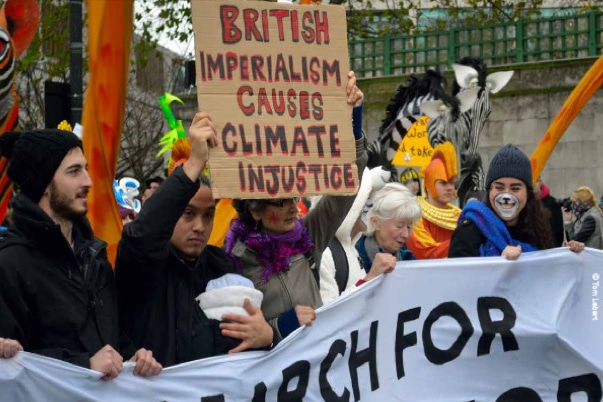 Wretched of the Earth contingent on People's Climate March of Justice and Jobs