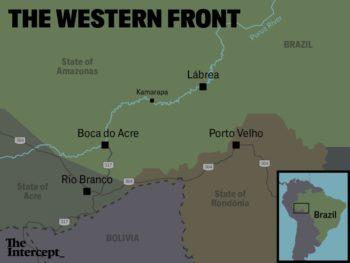 Map: Soohee Cho/The Intercept