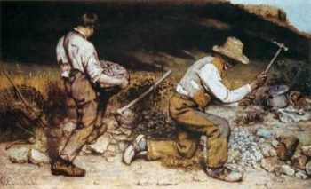 Gustave Courbet - The Stone Breakers (1849)