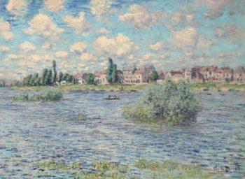 Claud Monet - The Seine at Lavacourt