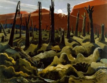 Paul Nash - We Are Making A New World (1919)