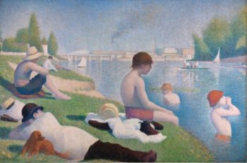 (1879) George Seurat - The Bathers (1884)