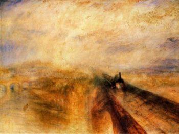 JMW Turner, Rain, Steam and Speed (1844)