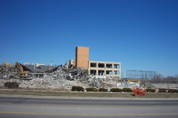 Buick City Demolition