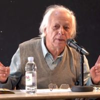 Samir Amin at the 2012 Subversive Festival in Zagreb. Source- Wikicommons.
