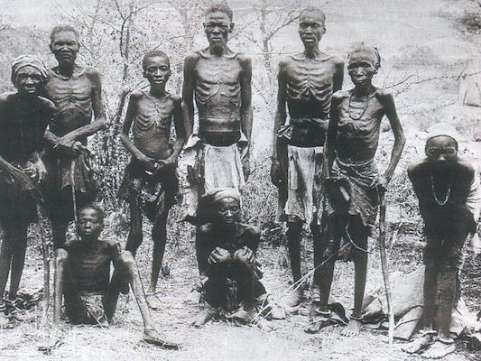 Survivors of the Herero genocide, ca. 1907. Photo- Wikimedia Commons