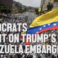 Trump starves Venezuela, Democrats are silent