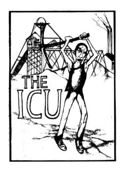 I.C.U. History Pamphlet Cover (published in 1983 by the Labour History Group).