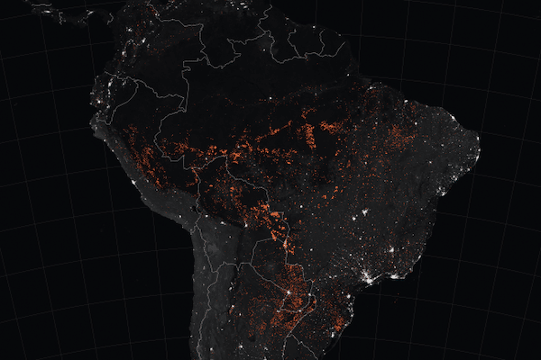 Amazon fires 15-22 August 2019 (NASA:Wikipedia Commons)