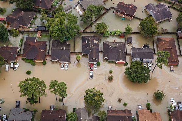 Figure 1 | Flooding in Houston, Texas, from Hurricane Harvey.