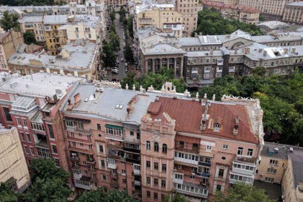 City center, Kiev, Ukraine