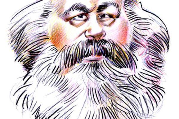 p10 K Marx caricature
