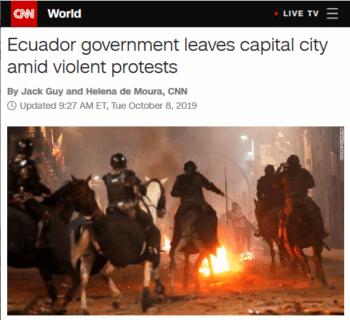 CNN on Ecuador