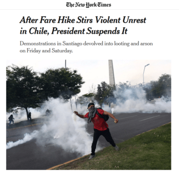 NYT on Chile